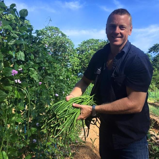 Mark Bennett snake beans HG